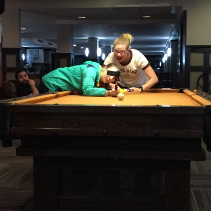 Shenanigans at the pool table