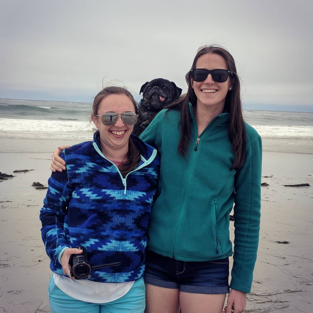 When you get photobomed by the dog